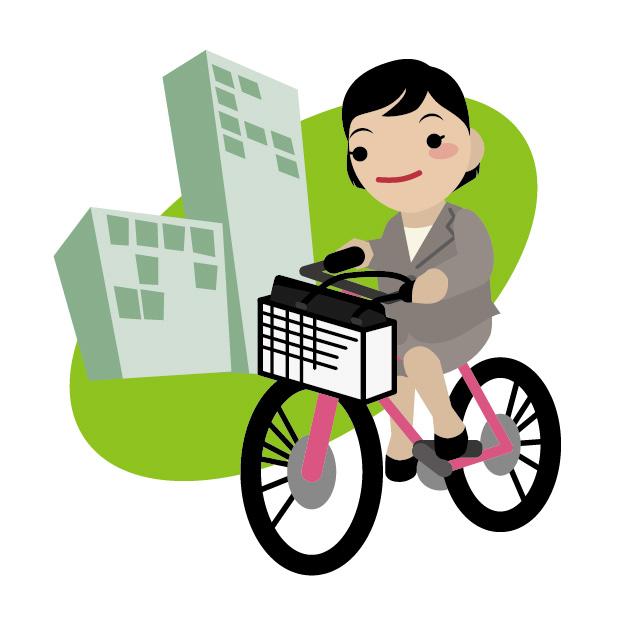 自転車通勤したい女性必見!!どれくらいの距離なら通勤可能か教えます☆