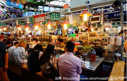 ソウルの広蔵市場で食べられる朝食とは?待たずに人気店に入るコツも!
