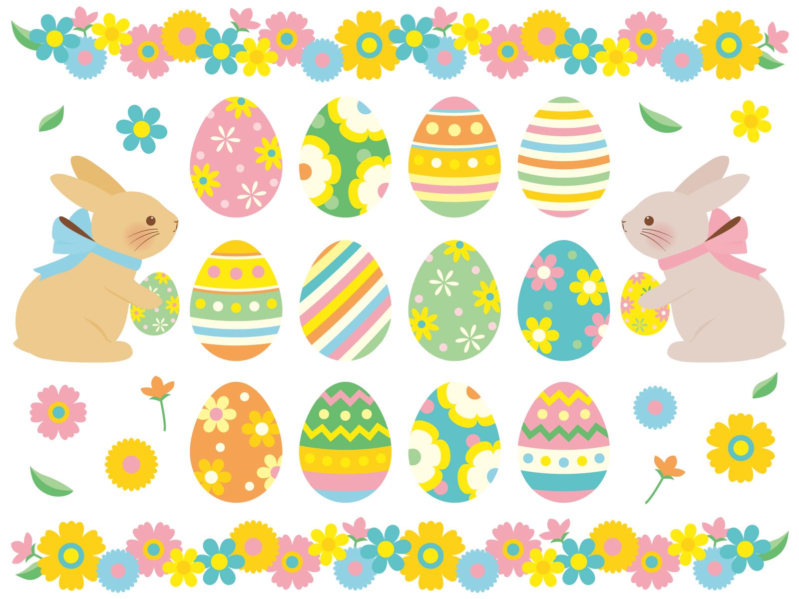 イースターってどんなイベント?ウサギやタマゴについて知って、子供とイースターを過ごしましょう♪