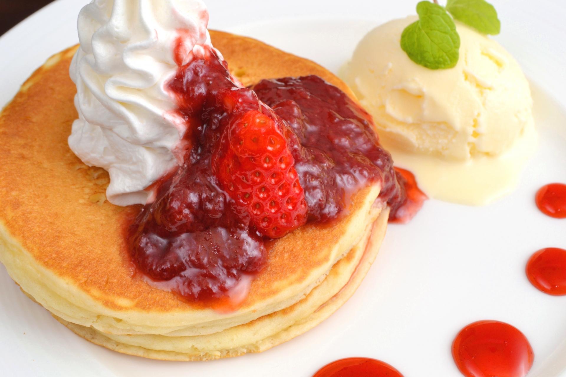 おうちで作ろう!!「もちもちパンケーキ」レシピ