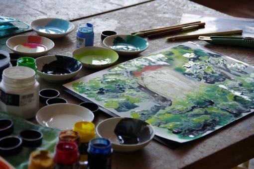 多視点描法を多用する画家とその構図とは。一見すると気づきにくい、絵画に潜んでいる技法