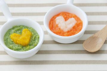 5~6カ月の赤ちゃんが食べる離乳食はペースト!おススメの作り方とは